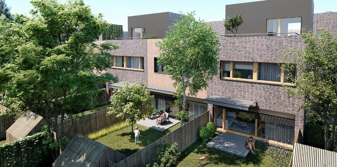 NowyStrzeszyn - Mieszkania z ogródkiem