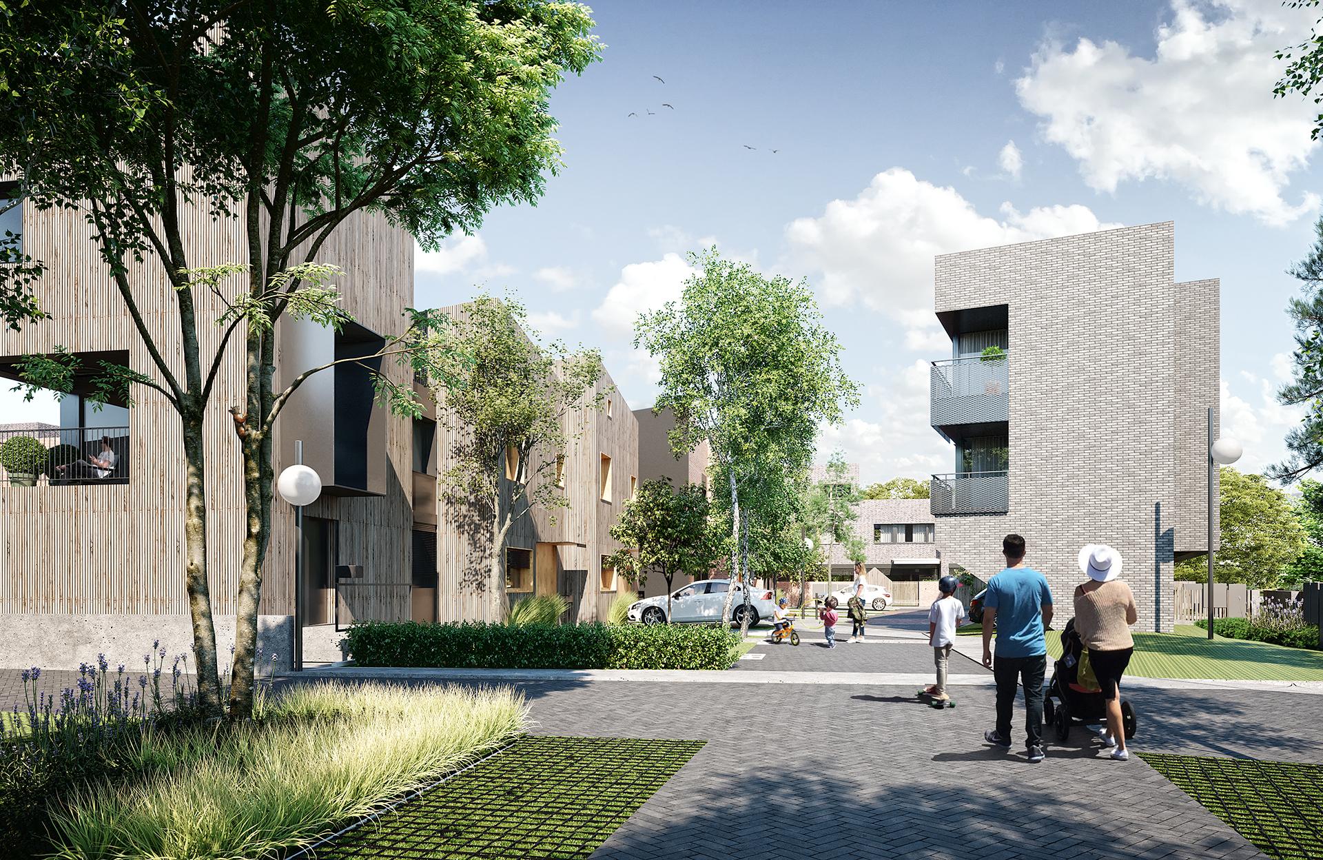 Nowy Strzeszyn - Mieszkania