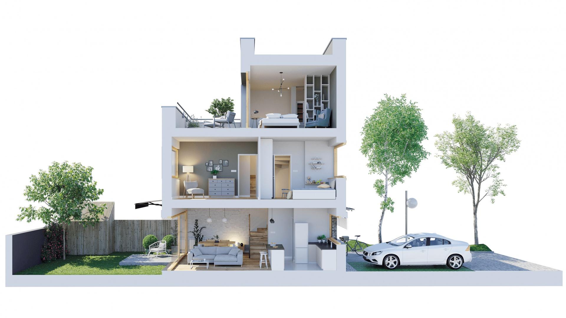 Nowy Strzeszyn - Przekrój mieszkań